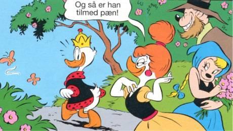 masker donald duck